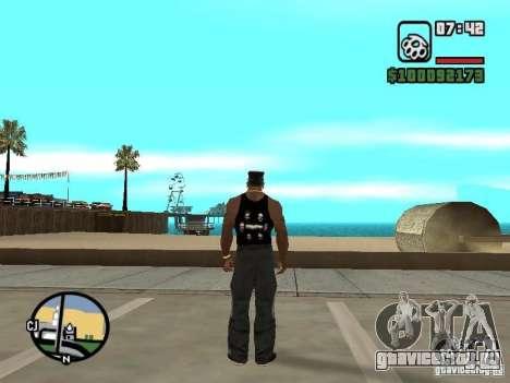 Майка Rammstein для GTA San Andreas третий скриншот