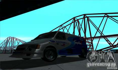 Ford Transit Supervan 3 2004 для GTA San Andreas вид слева