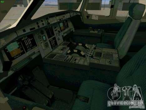 Airbus A380-800 для GTA San Andreas вид снизу