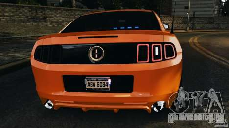 Ford Mustang 2013 Police Edition [ELS] для GTA 4 двигатель