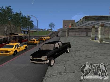 Chevorlet Silverado 2000 для GTA San Andreas вид сзади слева