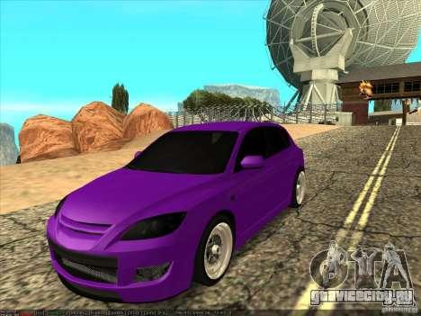Mazda Speed 3 Stance для GTA San Andreas