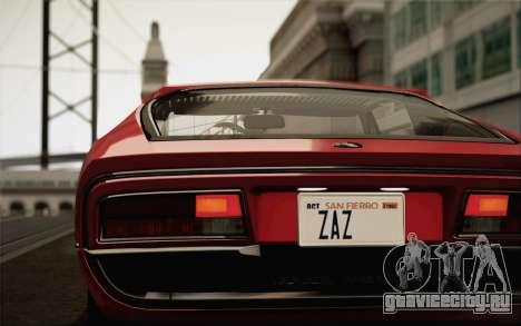 Alfa Romeo Montreal 1970 для GTA San Andreas вид слева