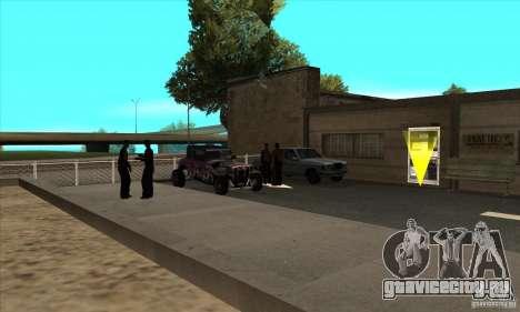 Оживление автошколы в San-Fierro V 2.0 Final для GTA San Andreas третий скриншот