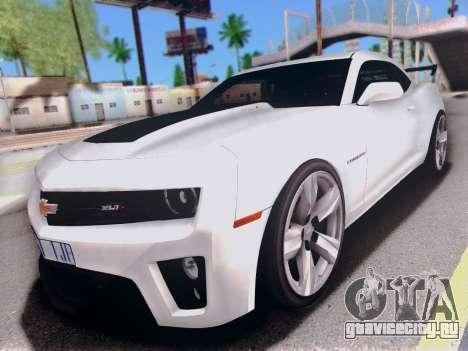 Chevrolet Camaro ZL1 SSX для GTA San Andreas