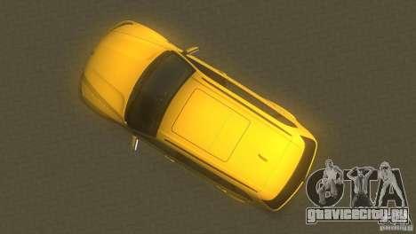 BMW X5 для GTA Vice City вид справа