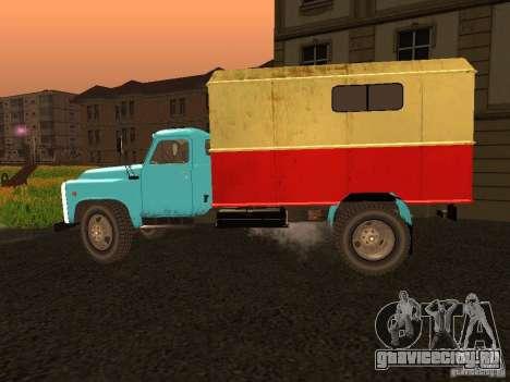 ГАЗ 53 для GTA San Andreas вид слева