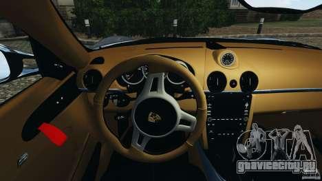 Porsche Cayman R 2012 [RIV] для GTA 4 двигатель