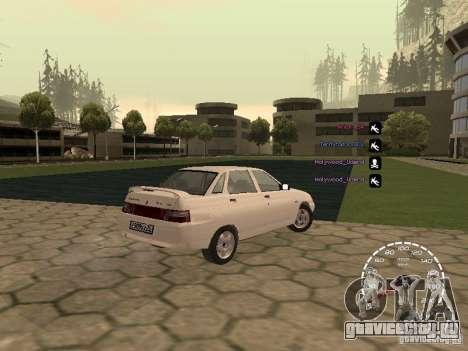 Спидометр Лада Приора для GTA San Andreas второй скриншот