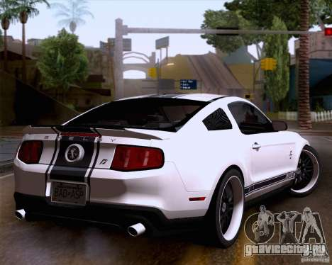 Ford Shelby GT500 Super Snake для GTA San Andreas вид слева