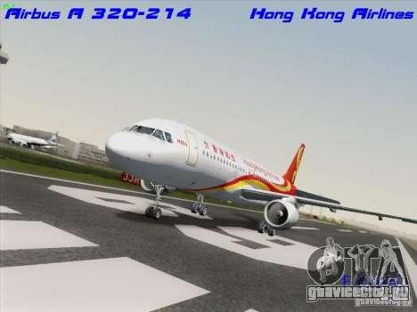 Airbus A320-214 Hong Kong Airlines для GTA San Andreas