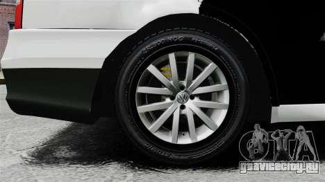 Volkswagen Parati G4 PMESP ELS для GTA 4 вид сзади