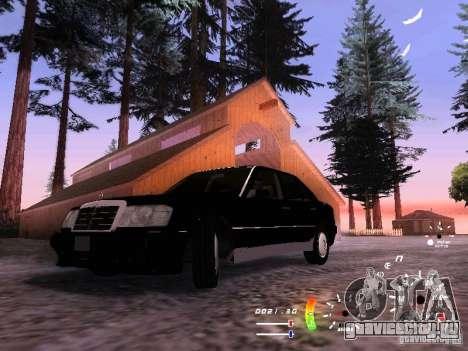 Mercedes-Benz 230E для GTA San Andreas вид сзади