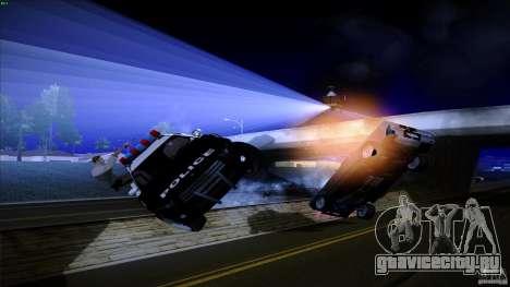 Копы стреляют из машин для GTA San Andreas четвёртый скриншот
