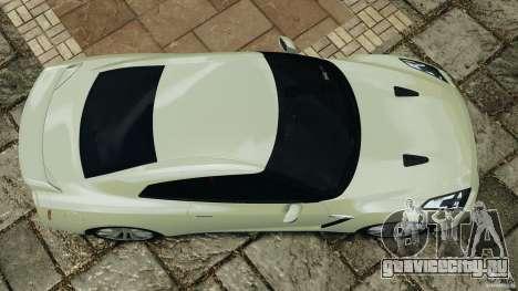 Nissan GT-R 2012 Black Edition для GTA 4 вид справа