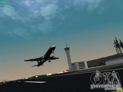 Embraer ERJ 190 USAirways для GTA San Andreas вид сзади