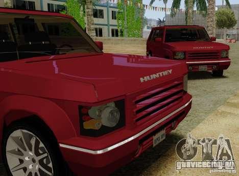 Huntley Freelander для GTA San Andreas вид сзади слева
