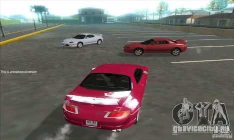 Mitsubishi FTO GP Version R 1998 для GTA San Andreas вид сзади слева