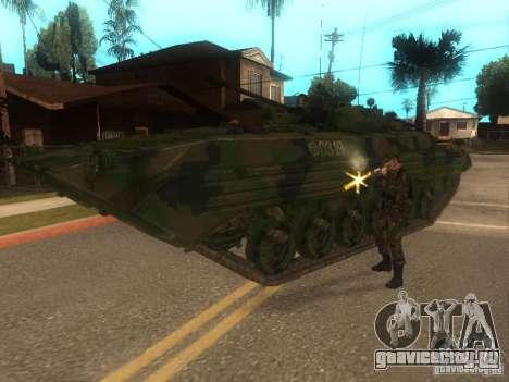 БМП-2 из COD MW2 для GTA San Andreas вид сзади