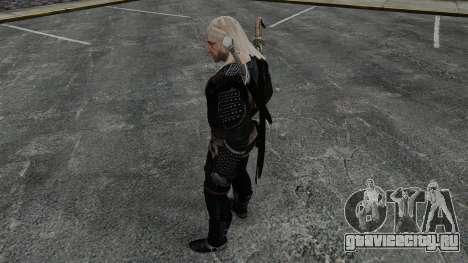Геральт из Ривии v8 для GTA 4 четвёртый скриншот