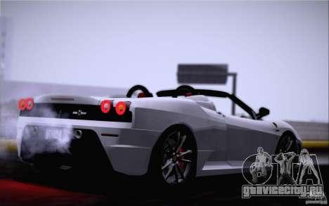 Ferrari F430 Scuderia Spider 16M для GTA San Andreas вид слева