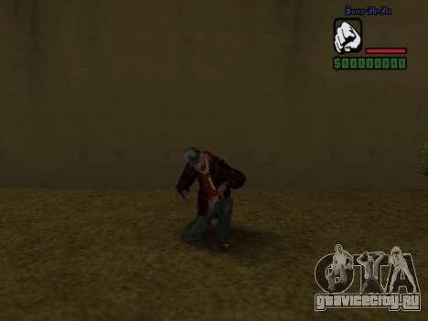 Скин бомжа в пиджаке для GTA San Andreas шестой скриншот