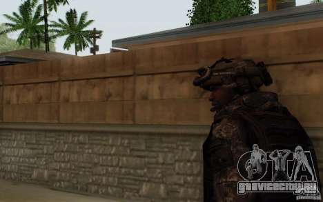 Сержант Фоули из CoD: MW2 для GTA San Andreas третий скриншот