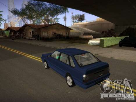 Daewoo-FSO Polonez Atu Plus 1.6 для GTA San Andreas вид сзади слева