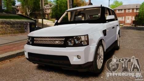 Land Rover Range Rover Sport Supercharged 2010 для GTA 4