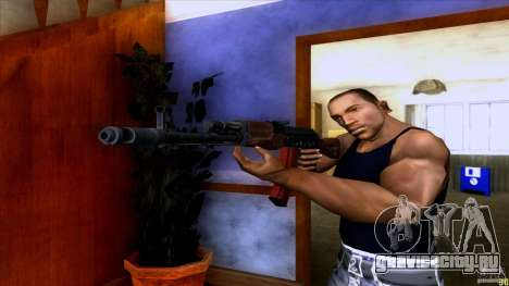 АК-74 для GTA San Andreas второй скриншот