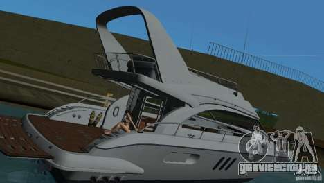 Катер для GTA Vice City вид изнутри