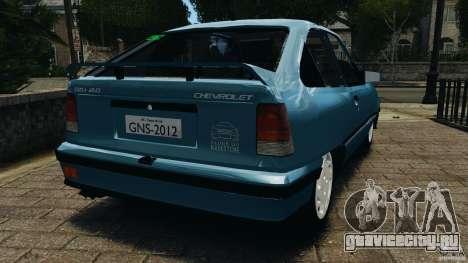 Chevrolet Kadett GSI для GTA 4 вид сзади слева