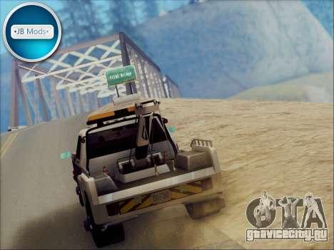 New Towtruck для GTA San Andreas вид справа