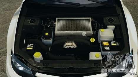 Subaru Impreza WRX STi 2011 G4S Estonia для GTA 4 салон