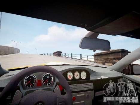 BMW M3 GT-S для GTA 4 вид изнутри