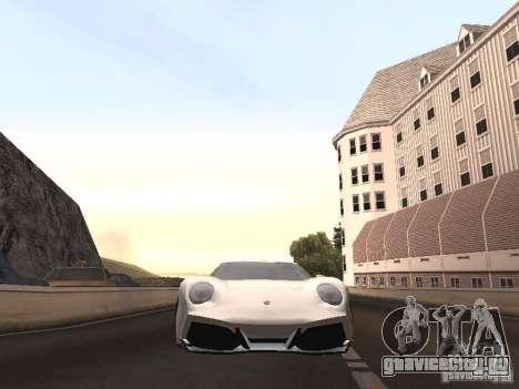 Lamborghini Miura LP670 для GTA San Andreas вид справа