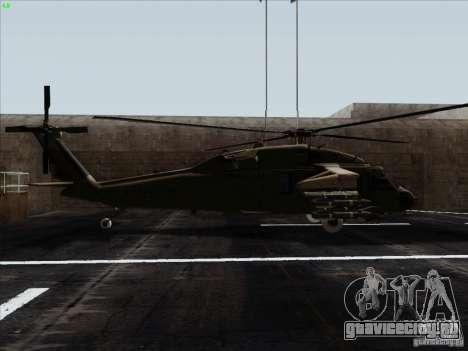 S-70 Battlehawk для GTA San Andreas вид слева