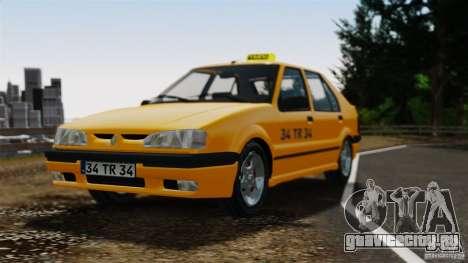 Renault 19 Такси для GTA 4