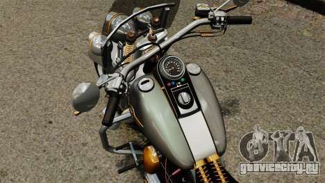 Harley-Davidson Trike для GTA 4 вид сзади