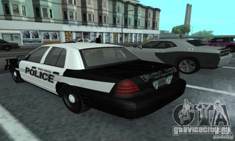 Ford Crown Victoria 2009 Slicktop для GTA San Andreas