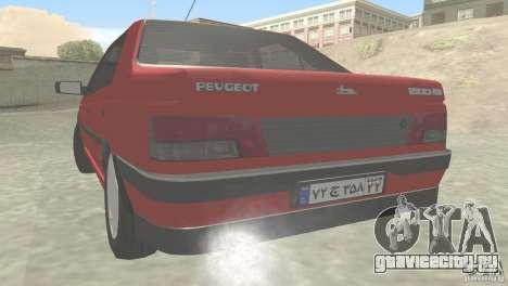 Peugeot RD 1600i для GTA San Andreas вид сзади слева