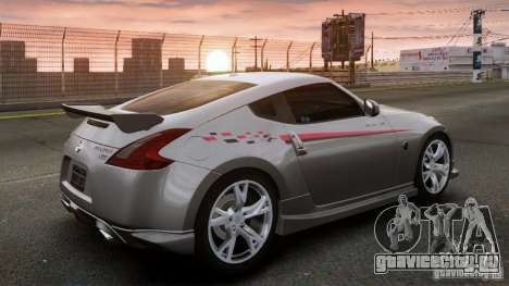 Nissan 370Z NISMO S-Tune для GTA 4 вид слева