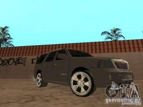 Lincoln Navigator 2004 для GTA San Andreas вид слева