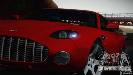 Aston Martin DB7 Zagato 2003 для GTA San Andreas вид сзади слева