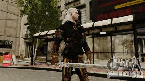 Меч Геральта v1 для GTA 4 третий скриншот