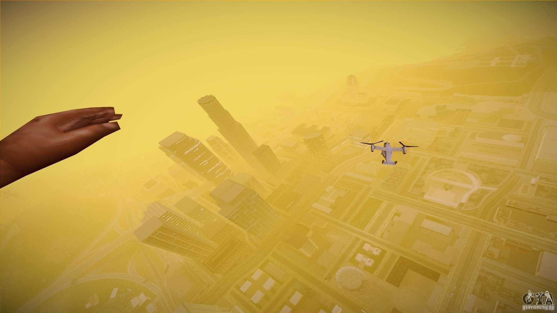 First Person Mod v2 для GTA San Andreas