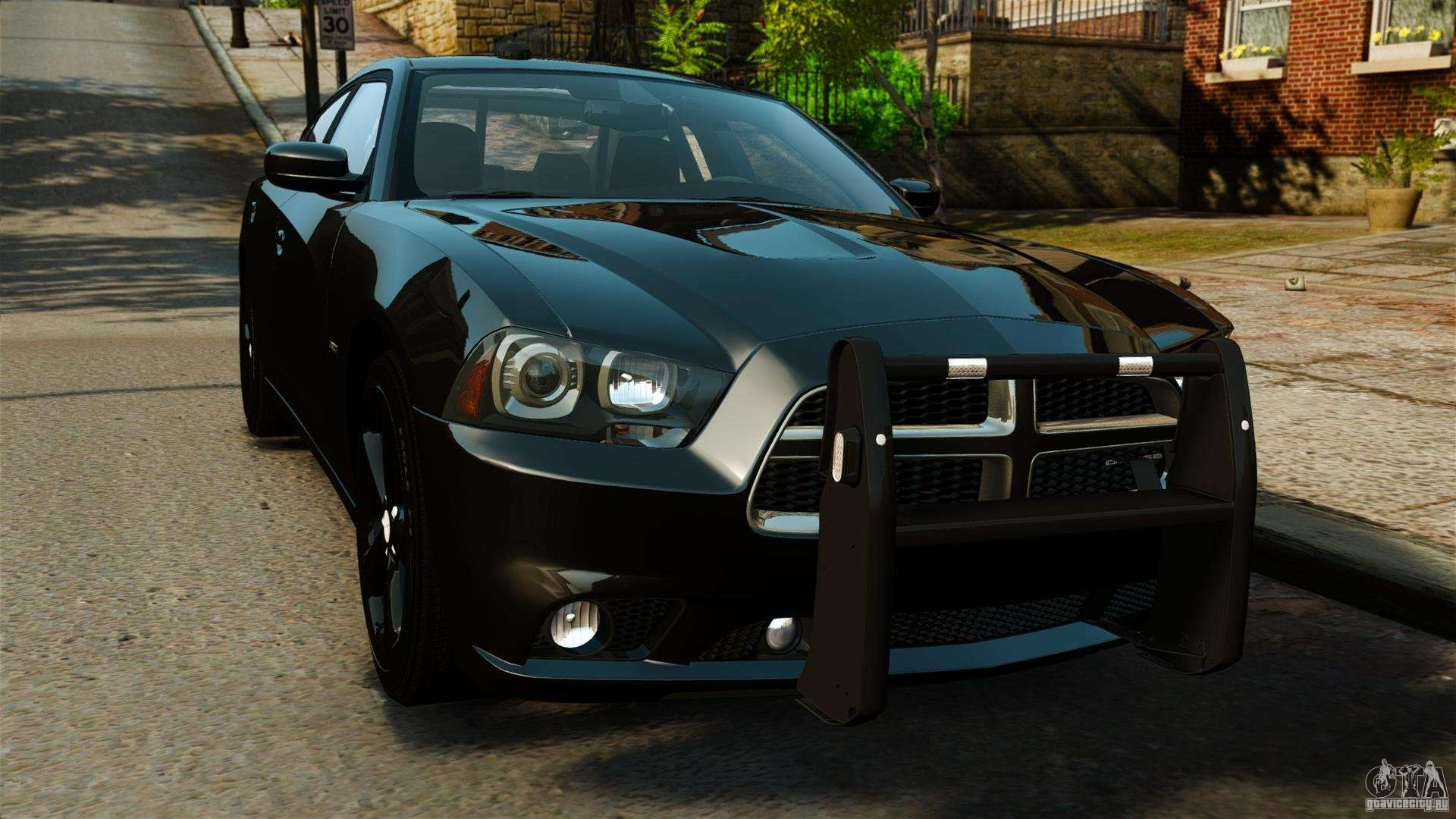 Dodge Charger Rt Max Fbi 2011 Els для Gta 4