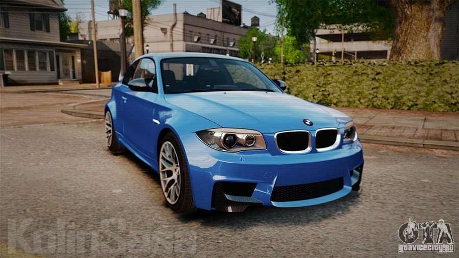 BMW 1M 2011 Carbon для GTA 4. Машины для GTA 4 с автоматической установкой: