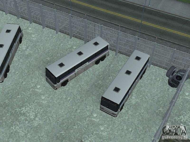 Автобусный парк версия V1.2 для GTA San Andreas: https://www.gtavicecity.ru/gta-san-andreas/cleo/22533-avtobusnyy-park-versiya-v12.html