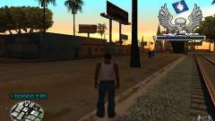 C-HUD awk William для GTA San Andreas
